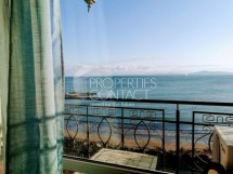 For sale a multi-room penthouse with panoramic sea view in Pomorie, Bulgaria, on the first line of the sea