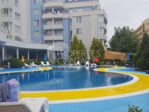 Resale in Sunny Beach in Bulgaria. One bedroom apartment with furniture in the complex Laguna 2