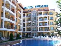 We offer for sale a studio in Bulgaria in Sunny Beach in the Golden Dreams complex
