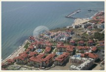 For sale an excellent one-bedroom apartment on the first line of the sea in the town of Sveti Vlas, Garden of Eden complex in Bulgaria