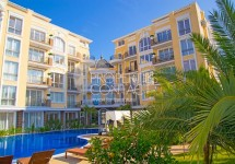 One-bedroom apartment for sale in a premium complex in Sunny Beach in Bulgaria