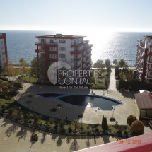For sale two-bedroom apartment with furniture on the first line in the city of Saint Vlas, Bulgaria