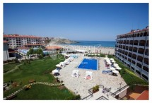 We sell a furnished one-bedroom apartment on the front  beach line in Tsarevo, Bulgaria