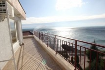 For sale one-bedroom apartment with a panoramic terrace with sea views in the complex Panorama Fort in Saint Vlas, Bulgaria