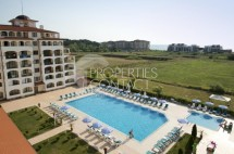 For sale furnished one bedroom apartment with sea view in Obzor, Sunrise Complex, Bulgaria