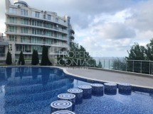 For sale- a spacious furnished studio with sea view in the complex Silver Beach, Byala,Bulgaria