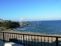 We offer for sale furnished studio wih sea view, first line on the beach, in Primea complex -Tzarevo,Bulgaria