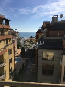 Furnished two bedroom apartment with sea view for sale in Saint Vlas, Bulgaria in complex Siana 2