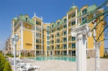 "Resale property in Sunny Beach,Bulgaria-furnished studio for sale in ""Golden Hermes"""