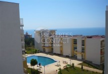 For sale one-bedroom apartment with sea views in the complex Crown Fort, Saint Vlas, Bulgaria