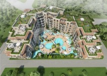 Apartments for sale in Bulgaria in Sunny Beach from the developer in the complex Messembria Palm Resort 3
