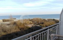 For sale one-bedroom apartment with sea view on the first line in Pomorie, Bulgaria