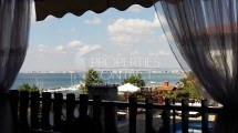 Sale of secondary real estate with furniture in Bulgaria. One-bedroom apartment with stunning sea view in Saint Vlas