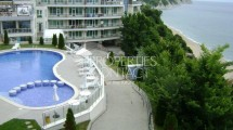 For sale two-bedroom apartment with sea view  in Bulgaria , complex Silver Beach,   Byala