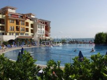 Properties for sale in Aheloy. For sale furnished two bedroom apartment with sea view in Marina Cape complex,Bulgaria